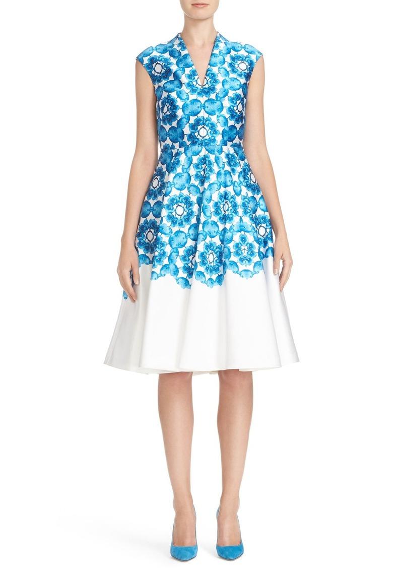 Ted Baker London 'Blue Beauty' Midi Dress