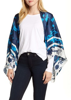 Ted Baker London Bluebell Silk Cape Scarf