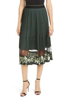 Ted Baker London Bonilee Pleated Skirt
