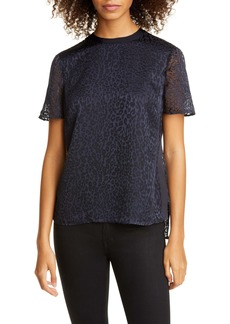 Ted Baker London Boppin Animal Burnout Top