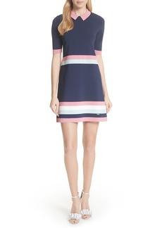 Ted Baker London Colour by Numbers Border Stripe Dress