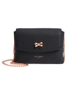 Ted Baker London Bow Leather Crossbody Bag