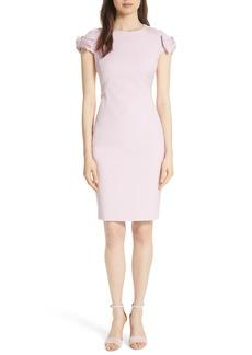 Ted Baker London Bow Shoulder Pencil Dress