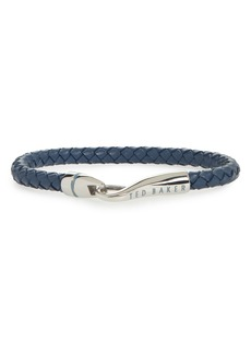 Ted Baker London Braided Leather Bracelet