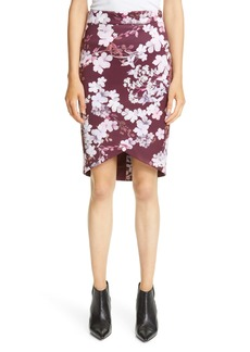 Ted Baker London Briia Pergola Floral Print Pencil Skirt