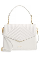 Ted Baker London Brittni Top Handle Leather Envelope Bag