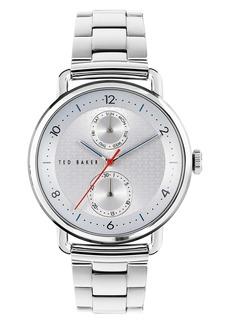 Ted Baker London Brixam Multifunction Bracelet Watch, 42mm