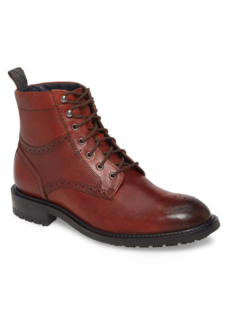 Ted Baker London Brwtton Medallion Toe Boot (Men)