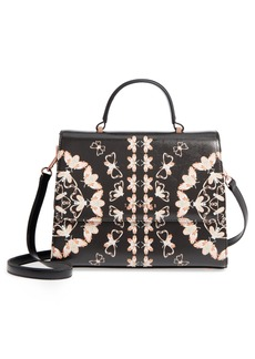 Ted Baker London Buzzy Queen Bee Faux Leather Satchel