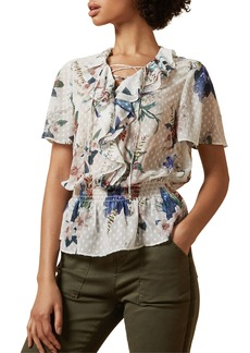 Ted Baker London Byrann Jamboree Ruffle Top