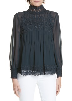 Ted Baker London Cailley Lace Top