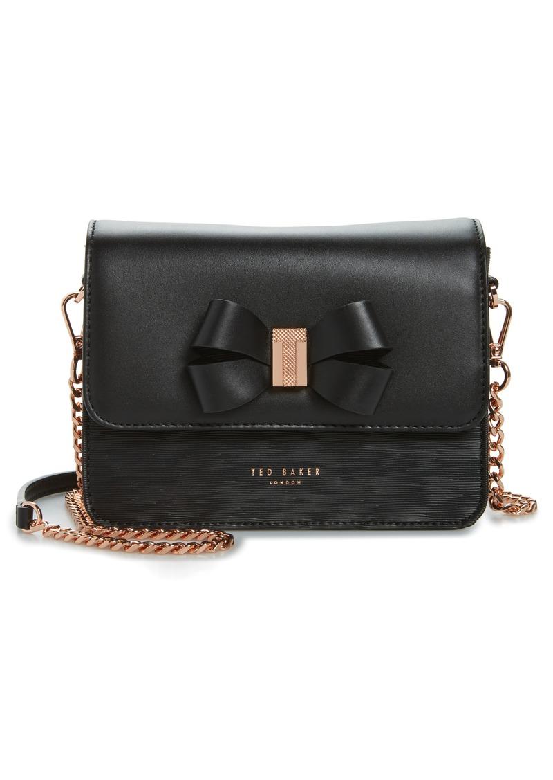 02de6135b Ted Baker Ted Baker London Callih Bow Leather Crossbody Bag | Handbags