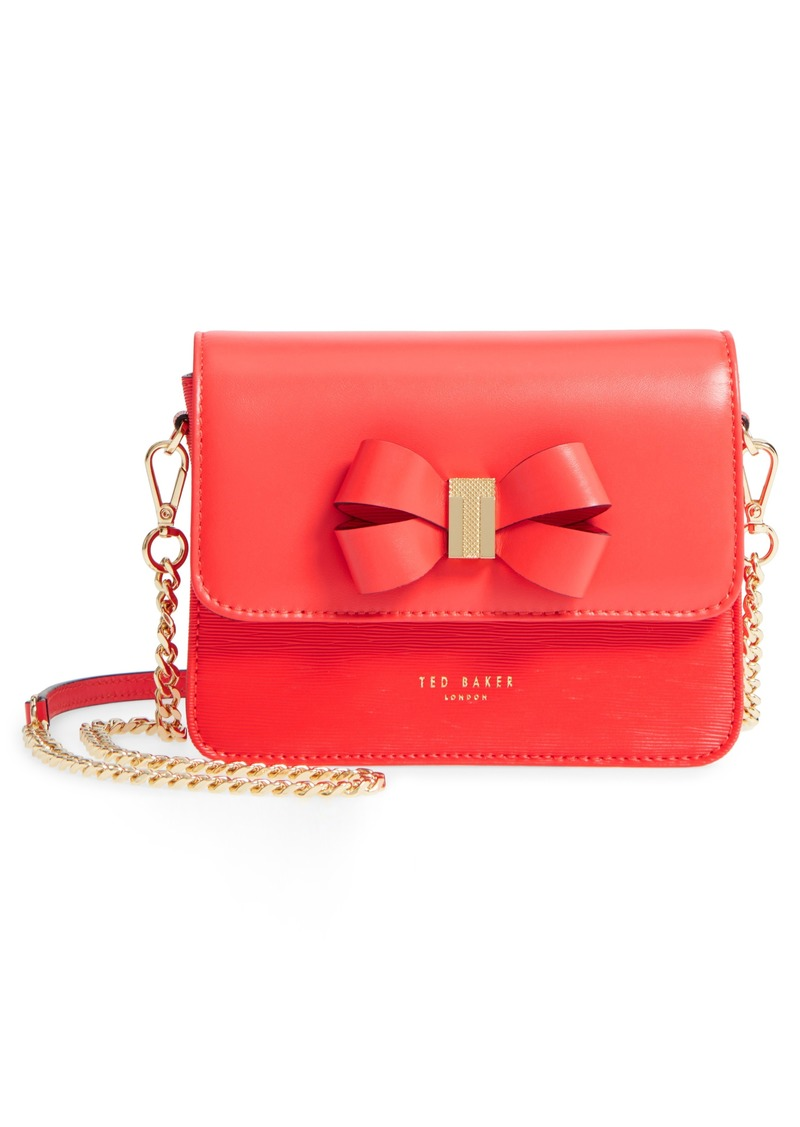 Ted Baker Ted Baker London Callih Bow Leather Crossbody Bag  e620ab73a759c