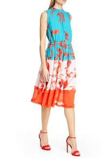 Ted Baker London Camelis Fantasia Tiered Midi Dress
