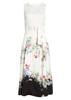 Ted Baker London Camylle Pergola Midi Dress