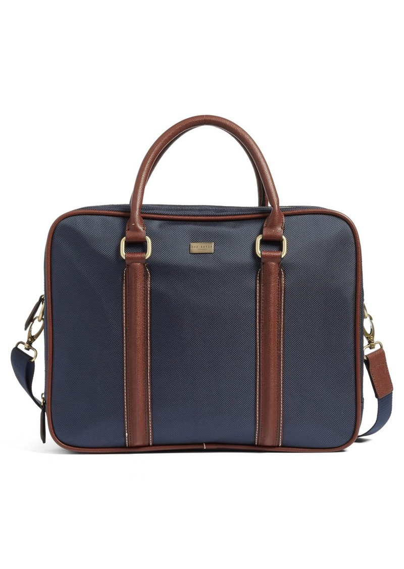 Ted Baker London Carbon Briefcase