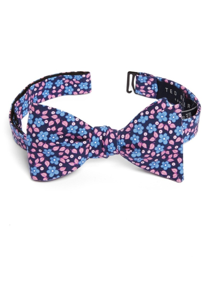 df1a5a577c54fc Ted Baker Ted Baker London Carnaby Floral Silk Bow Tie