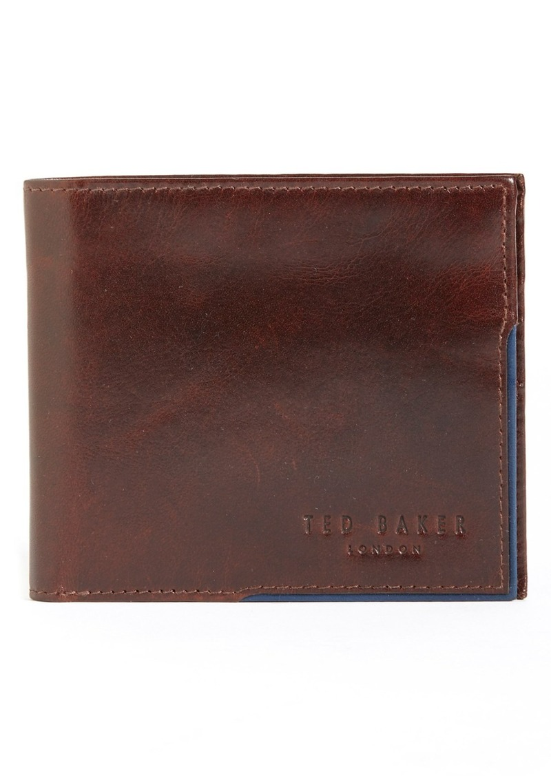 Ted Baker London Carouse Bifold Leather Wallet