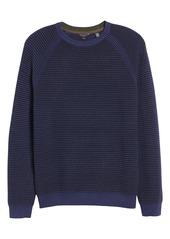 Ted Baker London Cashoo Slim Fit Ribbed Sweatshirt