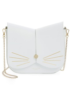 Ted Baker London Cat Leather Crossbody Bag