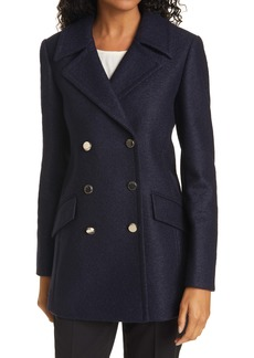 Ted Baker London Catiiey Double Breasted Peacoat