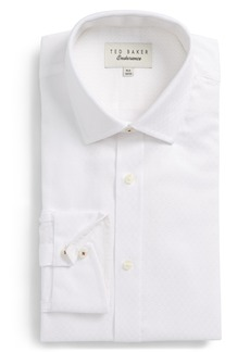 Ted Baker London Catria Trim Fit Geometric Dress Shirt