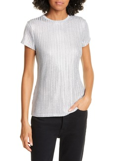 Ted Baker London Catrino Fitted Metallic Tee