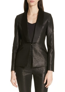 Ted Baker London Caysi Metallic Tuxedo Suit Jacket