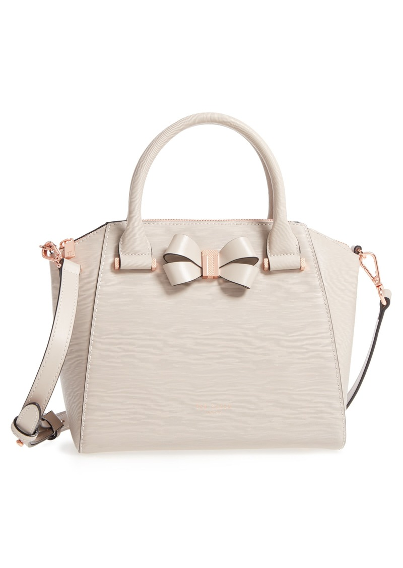 543c6597d Ted Baker Ted Baker London Charmea Bow Small Leather Tote