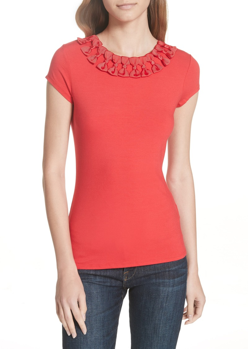 7d9836ce72d82 SALE! Ted Baker Ted Baker London Charre Bow Neck Tee