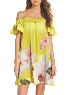 Ted Baker London Chatsworth Bardot Cover-Up Dress