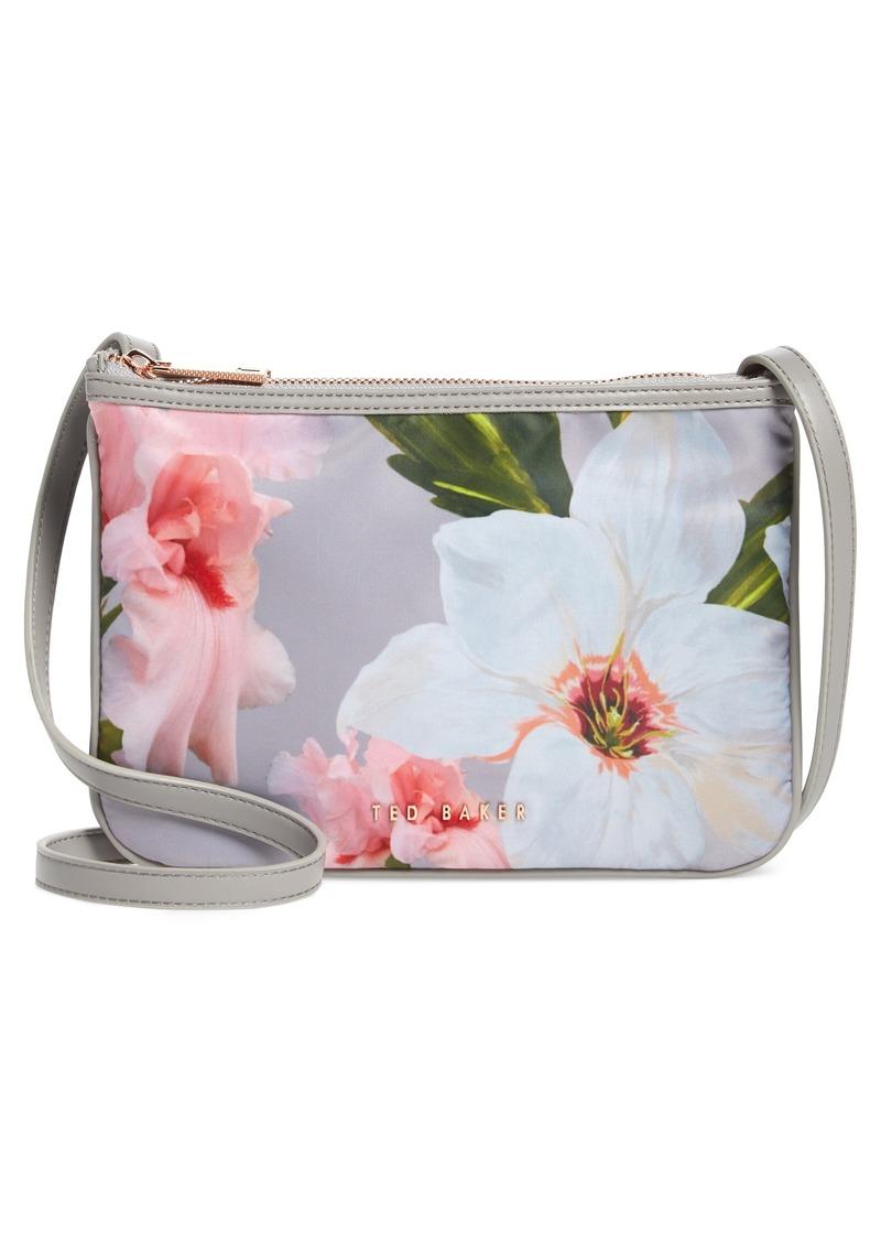 65c6c9e9d Ted Baker Ted Baker London Chatsworth Bloom Nylon Crossbody Bag Now ...