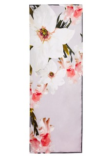 Ted Baker London Chatsworth Blossom Silk Scarf