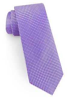 Ted Baker London Check Narrow Silk Tie