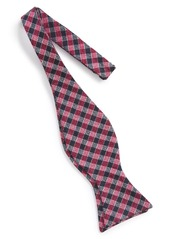 Ted Baker London Check Silk & Wool Bow Tie