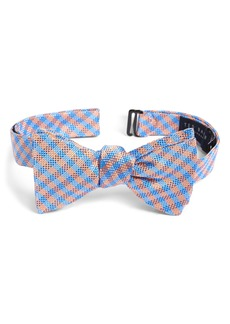 Ted Baker London Check Silk Bow Tie