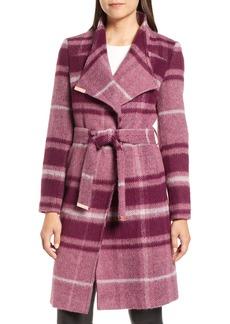 Ted Baker London Check Wrap Coat
