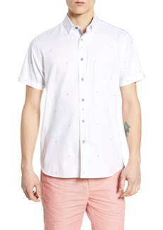 Ted Baker London Cheerz Cocktail Coupe Slim Fit Sport Shirt