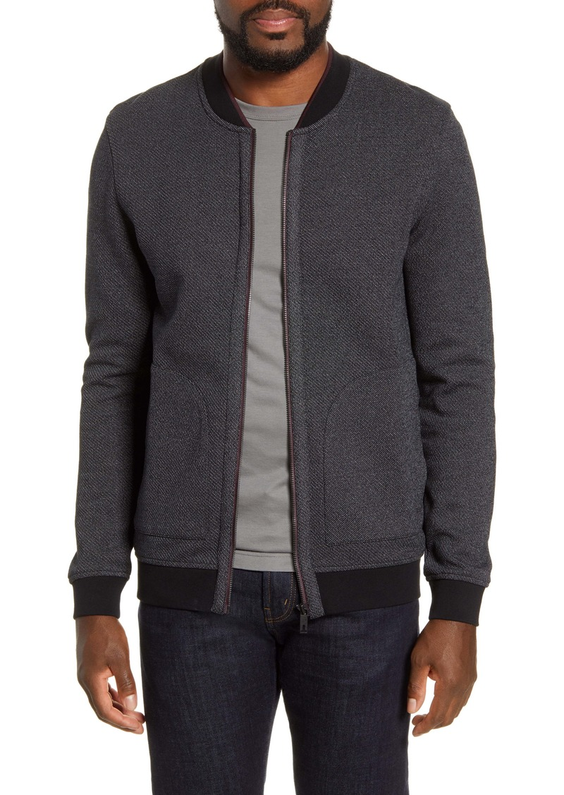 Ted Baker London Chees Knit Bomber Jacket