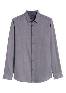 Ted Baker London Chemise Slim Fit Geo Print Button-Up Shirt