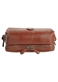 Ted Baker London Chocks Leather Dopp Kit
