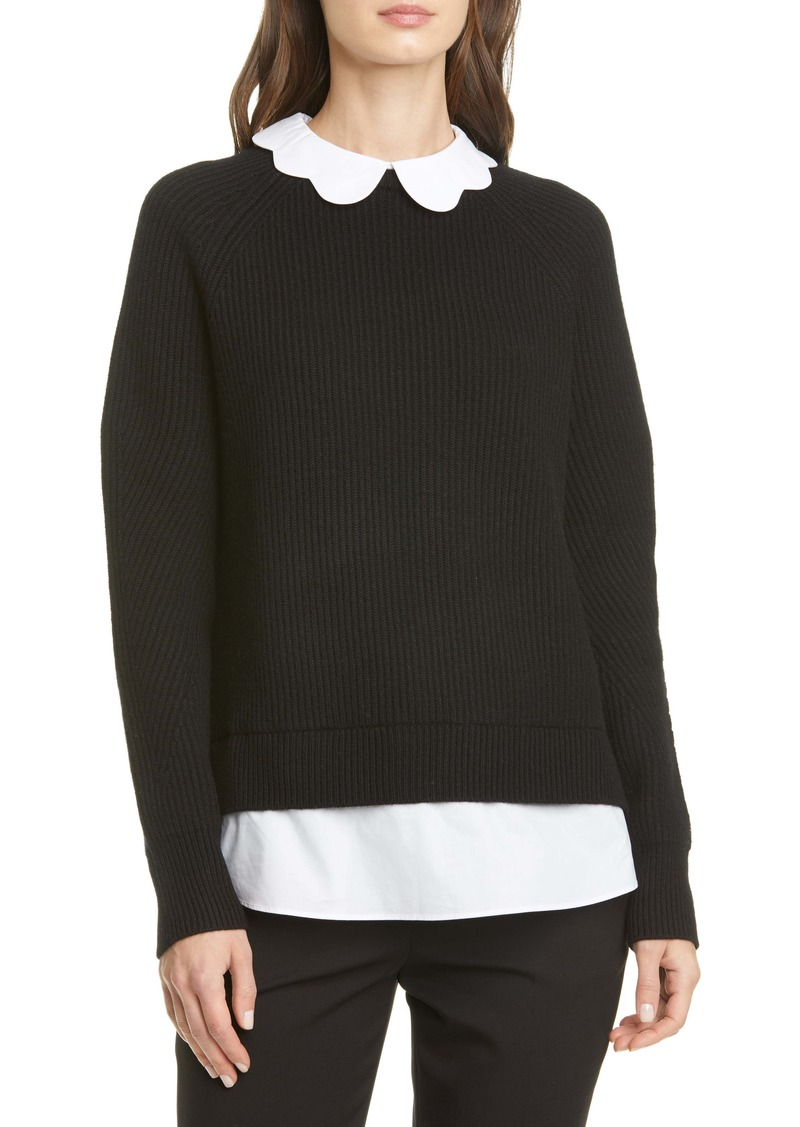Ted Baker London Chunky Mockable Sweater