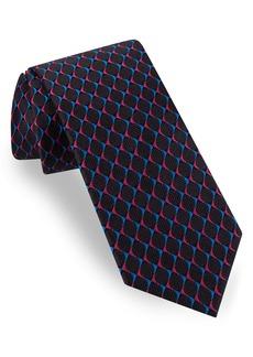 Ted Baker London Circle Grid Silk Tie