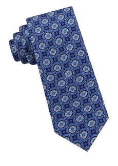 Ted Baker London Circle Medallion Silk Tie