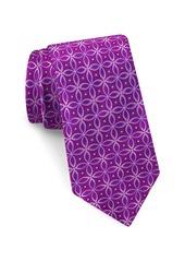 Ted Baker London Circle Print Silk Tie