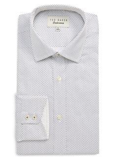Ted Baker London Endurance Clamme Extra Slim Fit Dot Dress Shirt