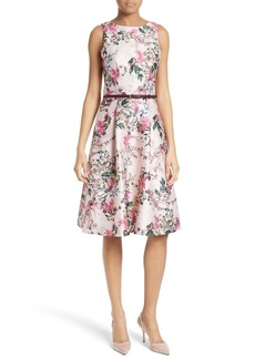 Ted Baker London Clarbel Fit & Flare Dress