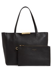 Ted Baker London Bow Leather Shopper
