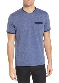 Ted Baker London Climb Mouline Layered Pocket T-Shirt