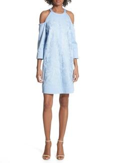 Ted Baker London Cold Shoulder Shift Dress